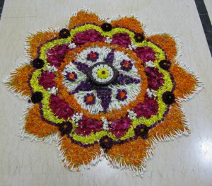 Onam Festival Flower of flowers