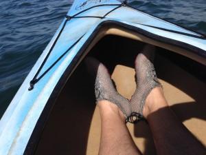 Kayaking with PaleoBarefotos